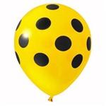 Balão de Látex Número 9 Bolinha com 25 Un.