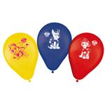 Balão de Látex Patrulha Canina - 25 Unidades