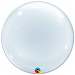 Balão Deco Bubble Trasnparente 51cm Qualatex