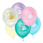 Balão Decorado Unicórnio Tamanho 10 C/25 - Pic Pic
