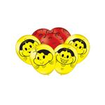 "Balão Especial Látex ""9"" Magali 25un Festcolor"