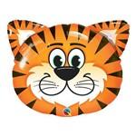 Balão Metalizado 30 Polegadas - Tigre Sorridente - Qualatex
