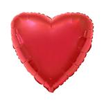 Balão Metalizado Coração Vermelho 20'' Megatoon