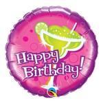 Balão Metalizado Redondo 18 Polegadas - Aniversário, Esqueça o Bolo - Qualatex