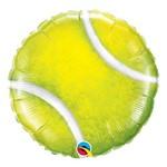 Balão Metalizado Redondo 18 Polegadas - Bola de Tênis - Qualatex