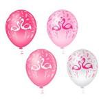 Balão N10 Flamingos Pic Pic Linha Fantasia 25 Unidades