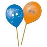 Balão P/ Vareta Latéx N9 - 23cm Peixonauta C/ 25 Unidades