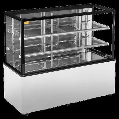 Balcão Confeitaria Seco Refrimate, New Titanium, 1.5m, Inox - CSNT-1500