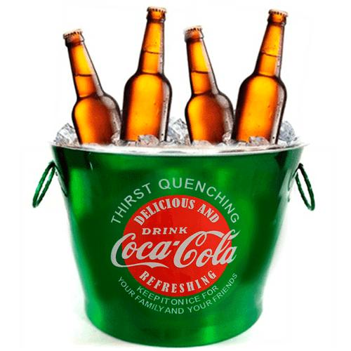 Balde de Cerveja Coca Cola
