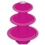 Baleiro Cartonado 3 Andares Pink