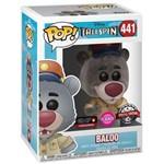 Baloo 441 Exclusivo Flocked Pop Funko TaleSpin Disney