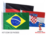 Bandeiras Países da Copa do Mundo 2018