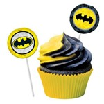 Bandeirinha Pick Batman Geek 8uni - Festcolor