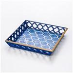 Bandeja Blue de Madeira 30X30 Cm