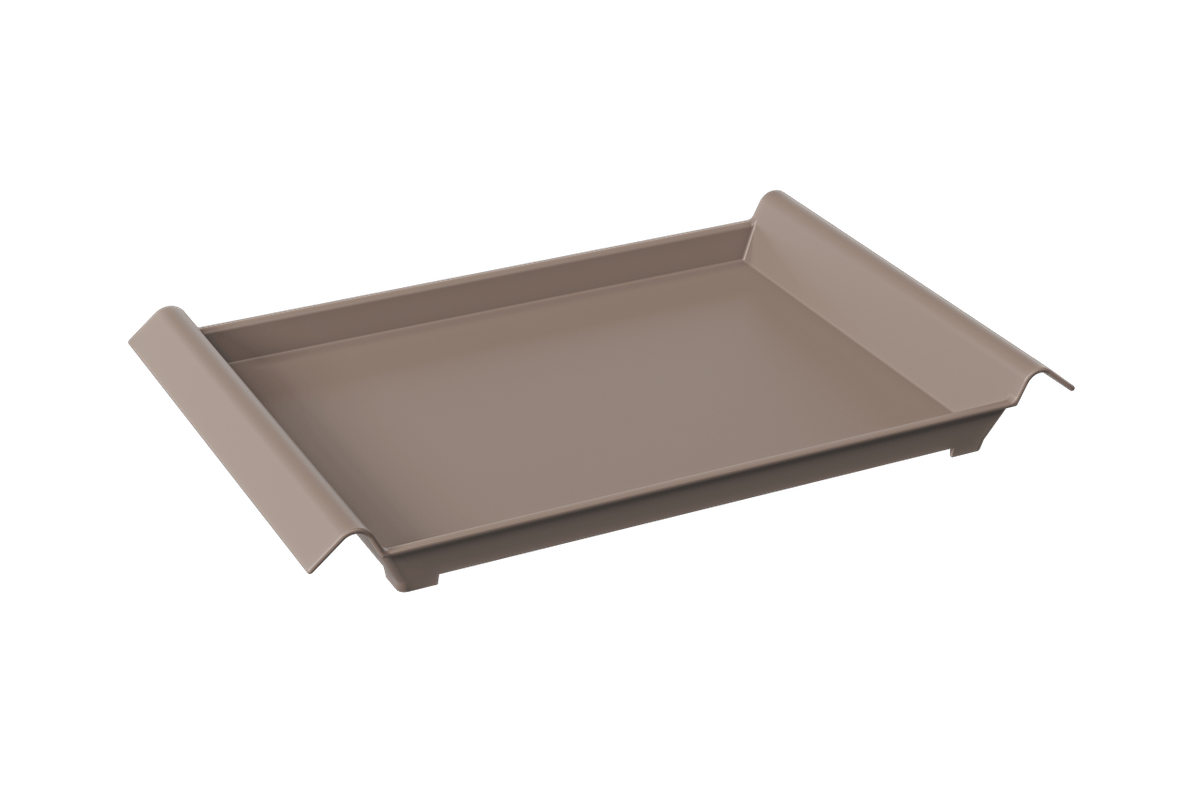 Bandeja Casual Grande 45,5 X 29,6 X 5 Cm Warm Gray Coza
