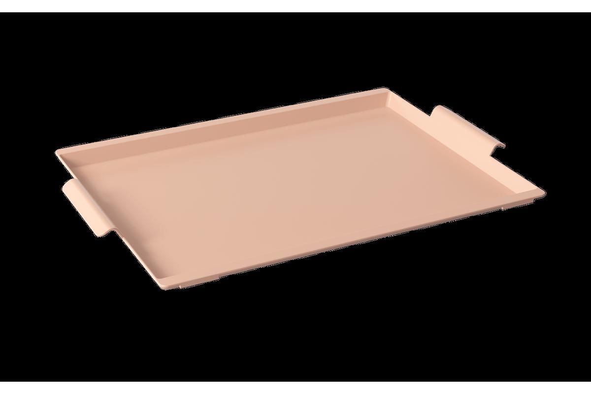 Bandeja Casual Maxi 50,7 X 33,6 X 3 Cm Rosa Blush Coza