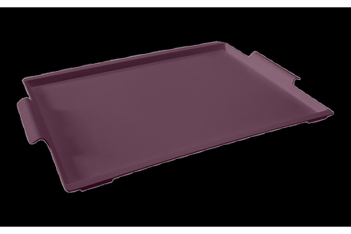 Bandeja Casual Maxi 50,7 X 33,6 X 3 Cm Roxo Púrpura Coza