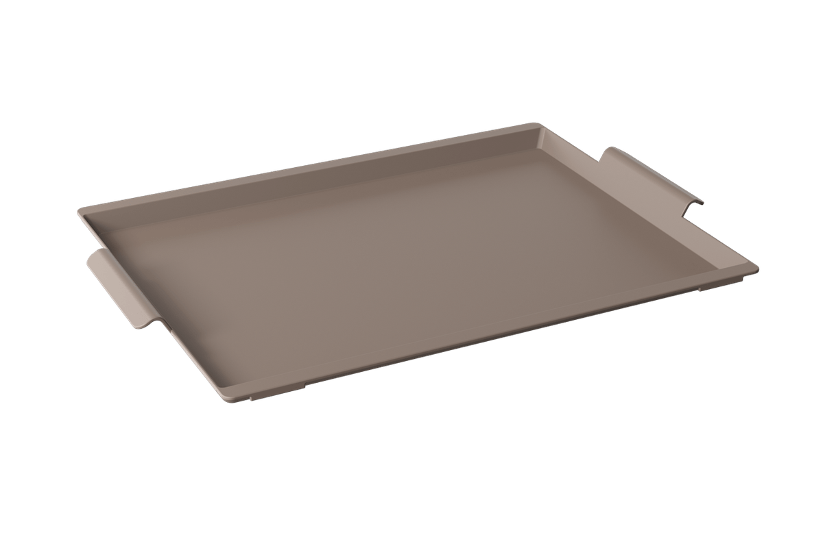 Bandeja Casual Maxi 50,7 X 33,6 X 3 Cm Warm Gray Coza