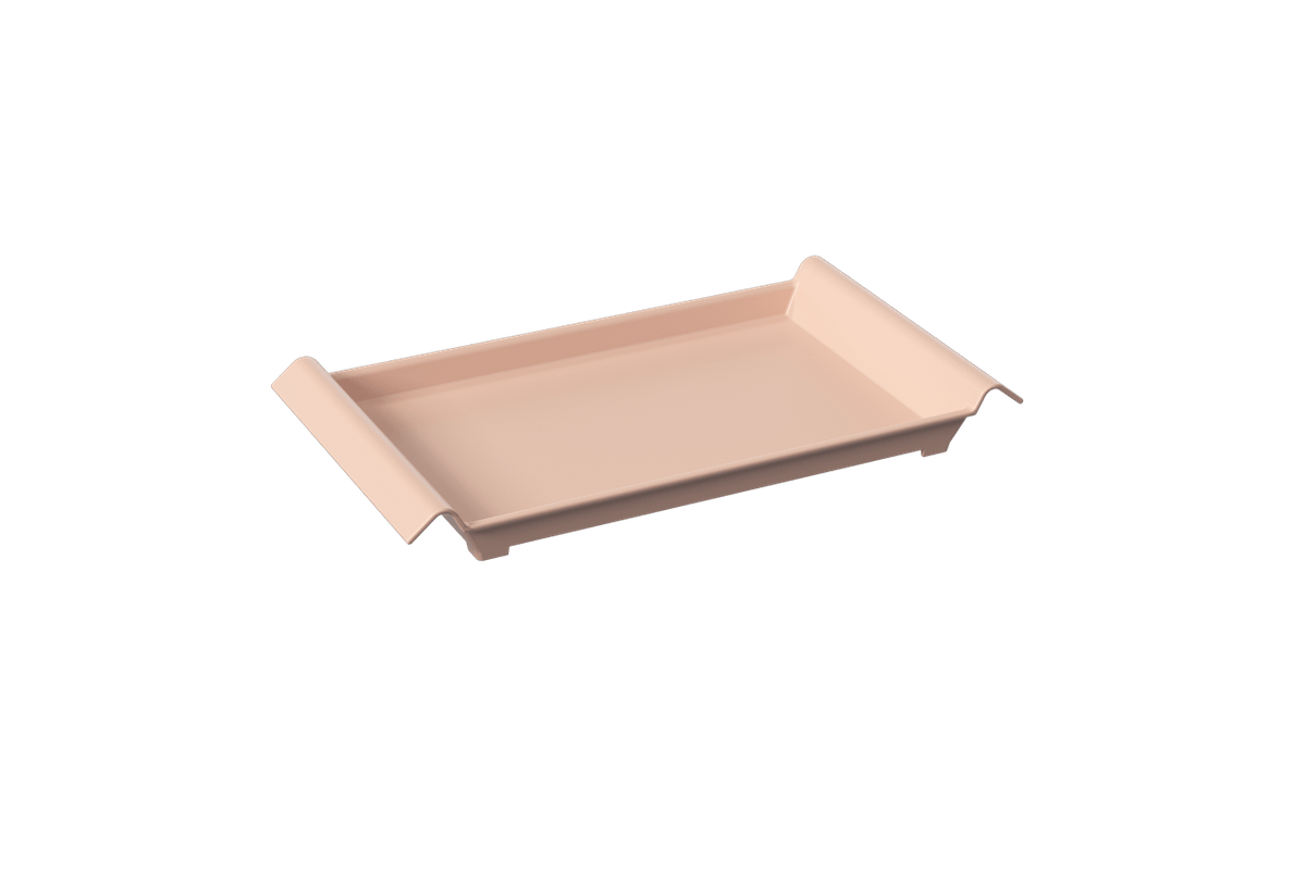 Bandeja Casual Pequena 34 X 19 X 3,8 Cm Rosa Blush Coza