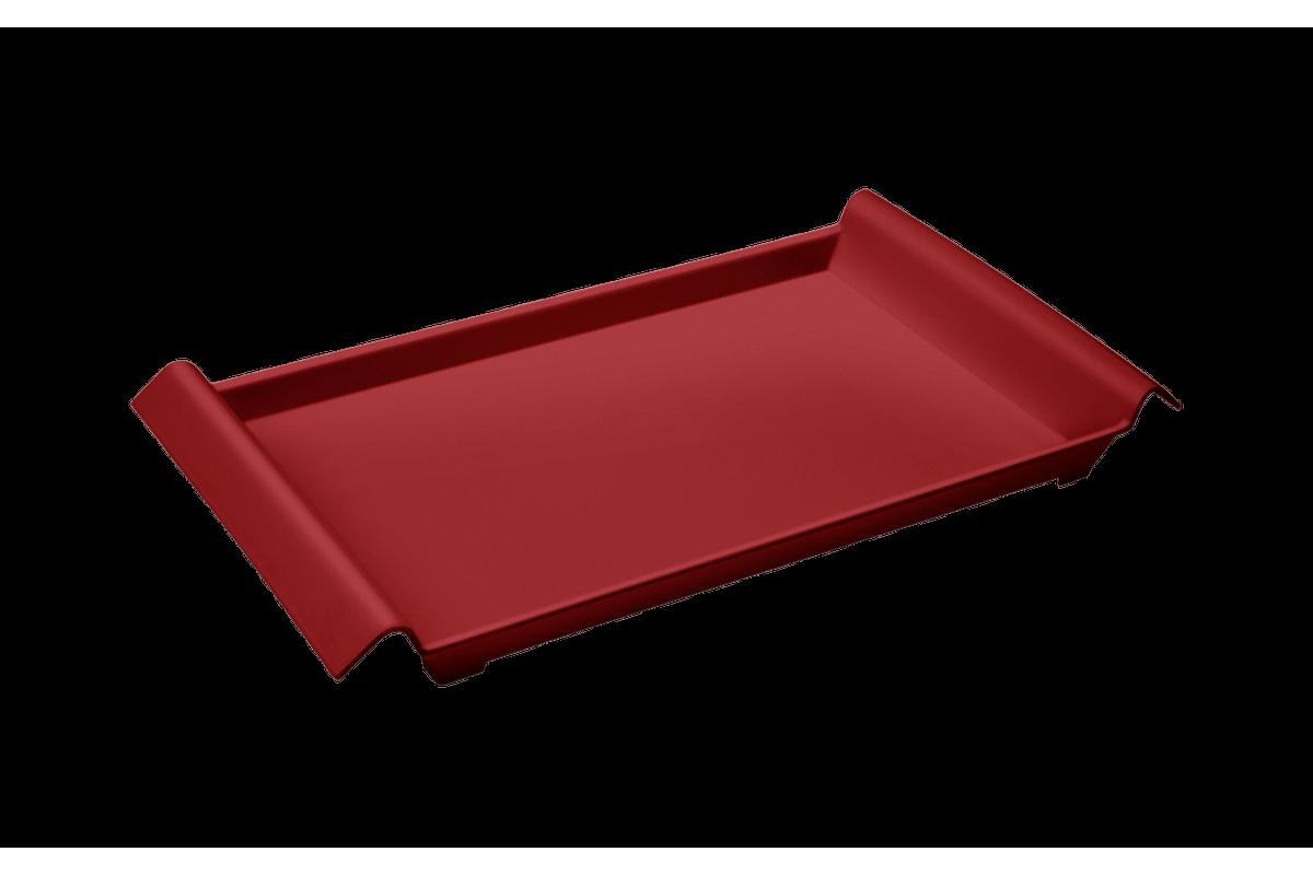 Bandeja Casual Pequena 34 X 19 X 3,8 Cm Vermelho Bold Coza