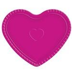 Bandeja Coração Pink - Ultrafest