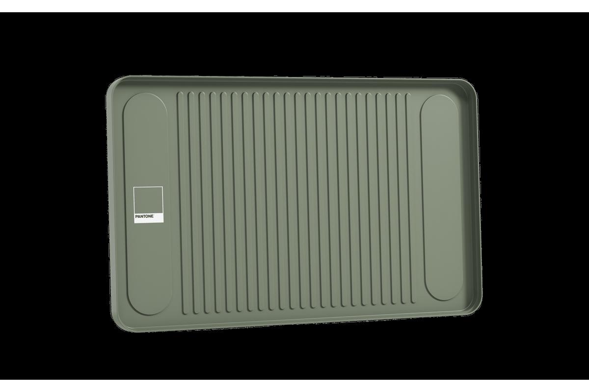 Bandeja Flat 33,5 X 4,6 X 1,9 Cm Verde Pantone Coza