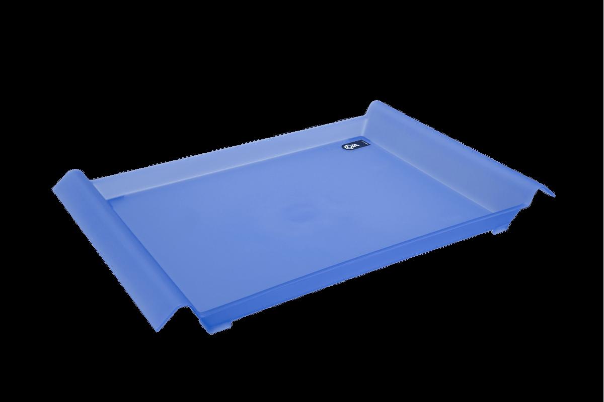 Bandeja Grande Casual 45,5 X 29,6 X 5 Cm Azul Coza