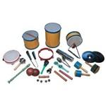 Bandinha Rítmica Escolar Kit com 20 Instrumentos Musicais