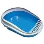 Banheira Gato Furacaopet Smart C/ Arco - Azul