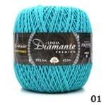 Barbante Diamante Premium Nº06 400g 01 - Turquesa