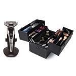 Barbeador 4D Philco Premium + Maleta Profissional para Maquiagem Be Emotion
