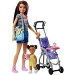 Barbie Babysitter Carrinho de Bebê - Mattel