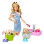Barbie Banho de Cachorrinhos - Mattel