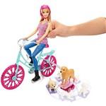 Barbie Bicicleta com Pets - Mattel