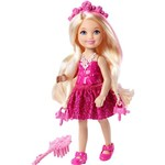 Barbie Chelsea Penteados Mágicos Barbie Long Hair Chelsea Rosa - Mattel