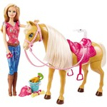 Barbie com Cavalo - Mattel
