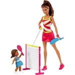 Barbie - Conjunto de Esportes - Professora de Tênis