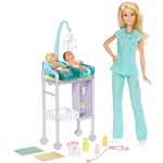 Barbie Conjunto Pediatra - Mattel