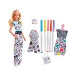 Barbie Crayola Pintando Seu Estilo - Mattel