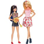Barbie Dupla de Irmãs Skipper - Mattel