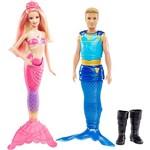 Barbie e a Sereia das Pérolas Casal BLL49 - Mattel