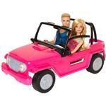 Barbie e Ken no Veículo de Praia - Mattel