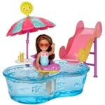 Barbie Família Chelsea com Piscina - Mattel