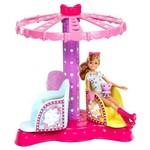 Barbie Família Irmãs no Parque Carrossel das Irmãs - Mattel