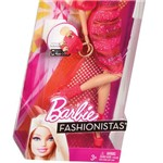 Barbie Fashionistas Loira com Vestido Pink - Mattel