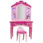 Barbie - Penteadeira Filme Centro de Comando - Mattel