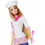 Barbie Quero Ser Chefe de Cozinha - Mattel
