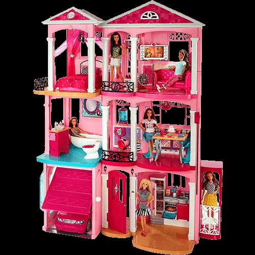 Barbie Real Casa dos Sonhos Ffy84 - Mattel