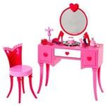 Barbie Real Móveis Básicos Mesa de Maquiagem