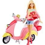 Barbie Real Scooter e Boneca BLW81 - Mattel
